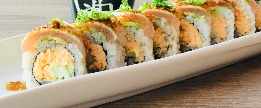 Warm Up This Season with our Spicy Sushi Rolls